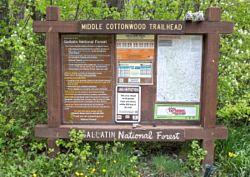 Middle Cottonwood Trailhead