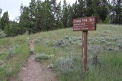 Clarks Fork Trailhead
