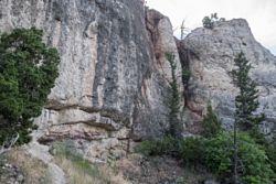 Rocky Canyon Climbing Area