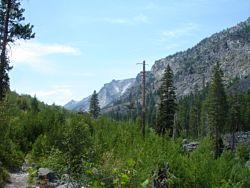 Blodgett Creek Trailhead