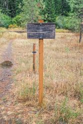 Caribou Ridge Trailhead
