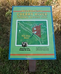 Cherry River Fishing Access