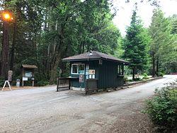 Memorial Park Entrance
