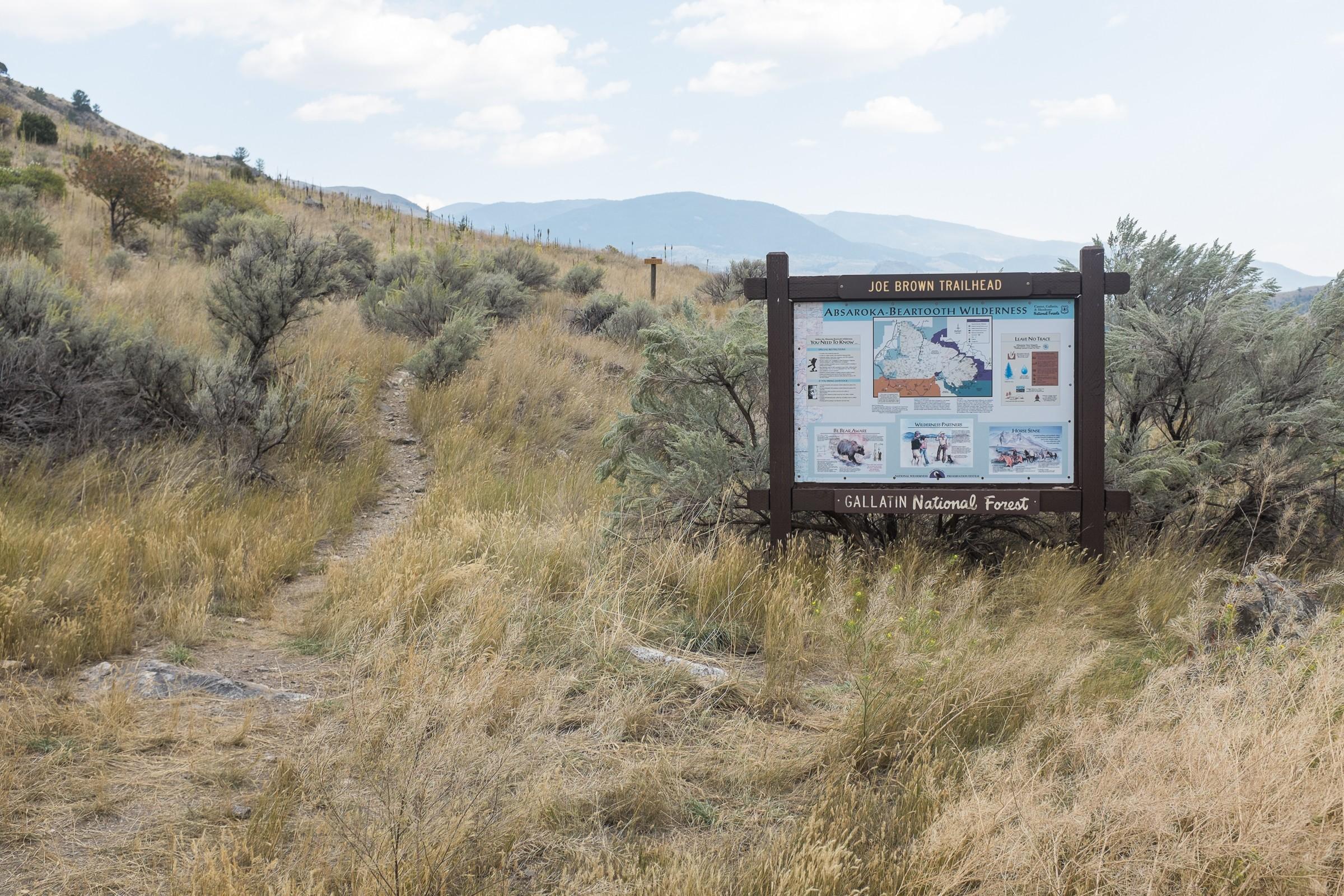 Joe Brown Trailhead, MT – Natural Atlas