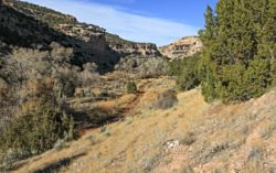 Dry Medicine Lodge Canyon