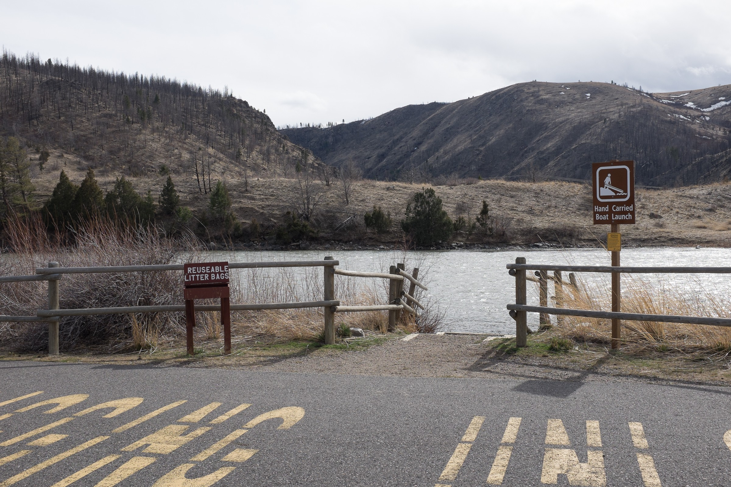 Boat Launches on Madison River (Missouri Headwaters SP