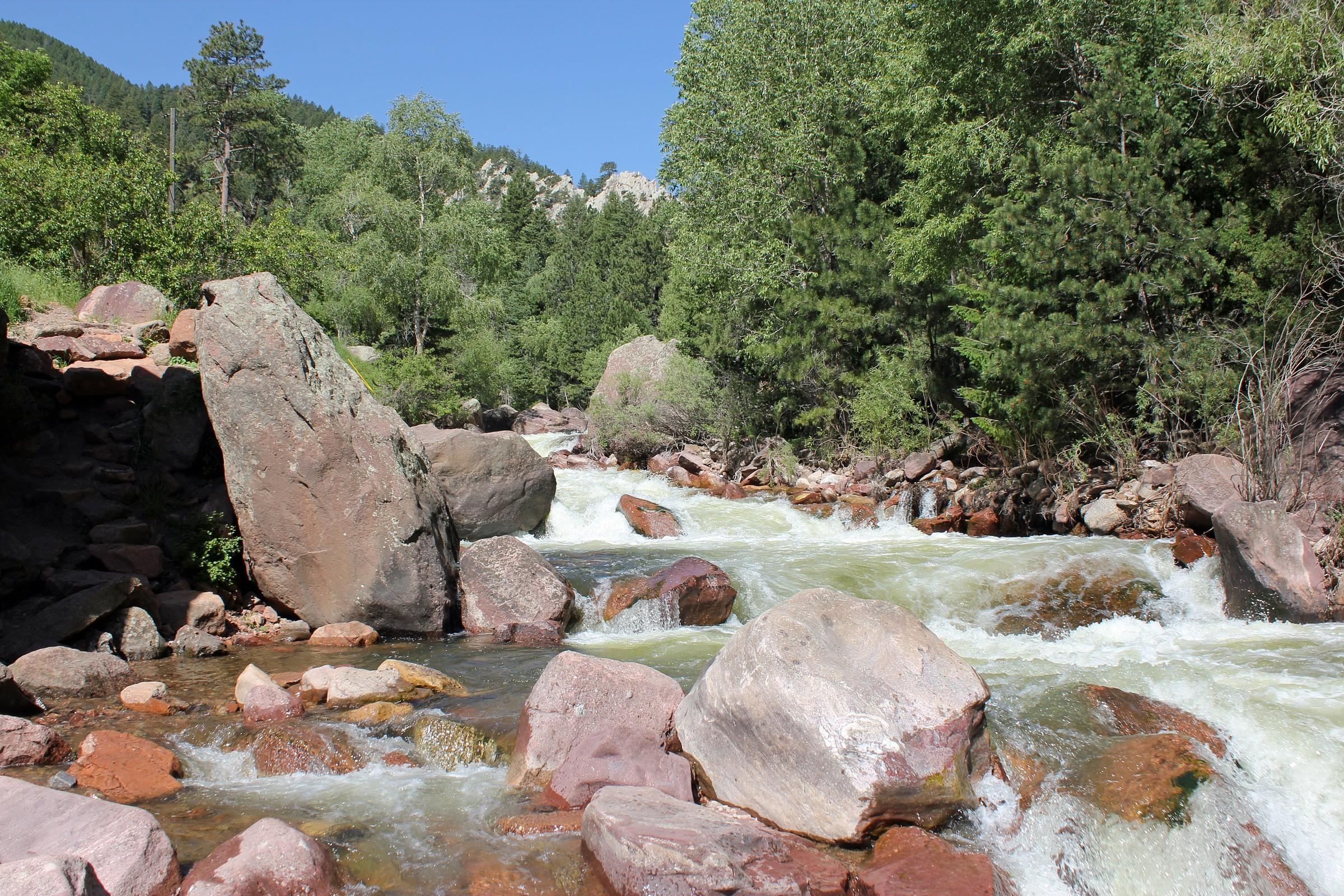 South boulder creek map walker ranch park natural atlas for Colorado fishing atlas