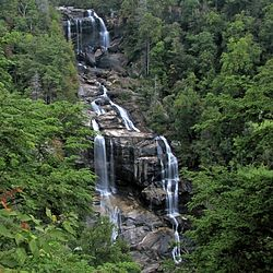 Upper Whitewater Falls Observation Point