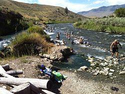 Boiling River Hot Spring