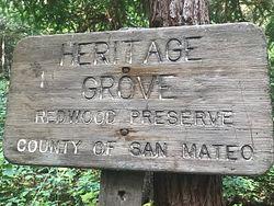 Heritage Grove Trailhead