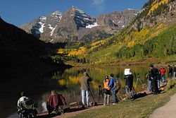 Maroon Lake Trailhead
