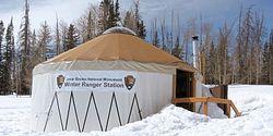 Cedar Breaks Winter Ranger Station