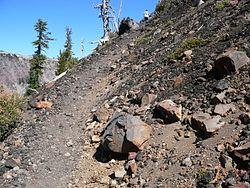Wizard Island Trail