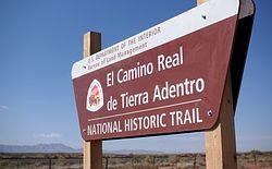 El Camino Real de Tierra Adentro Trail