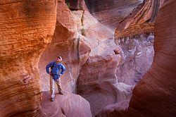 Holeman Slot Canyon Route