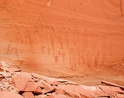 Alcove Gallery Pictographs