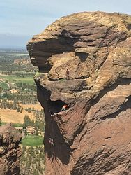 Monkey Face Climbing Area