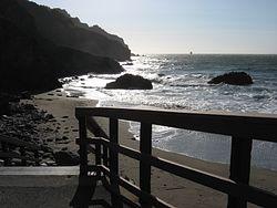 China Beach Access