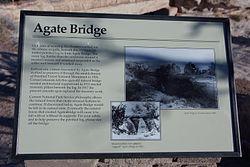 Agate Bridge Scenic View