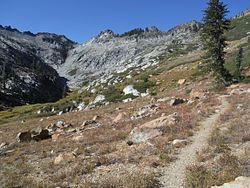 Trinity Alps Wilderness Hiking Map, CA – Natural Atlas