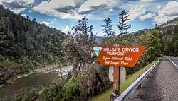 Hellgate Canyon Viewpoint