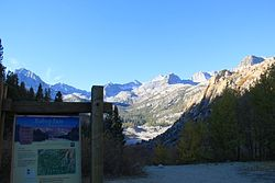 South Lake-Bishop Pass Trailhead
