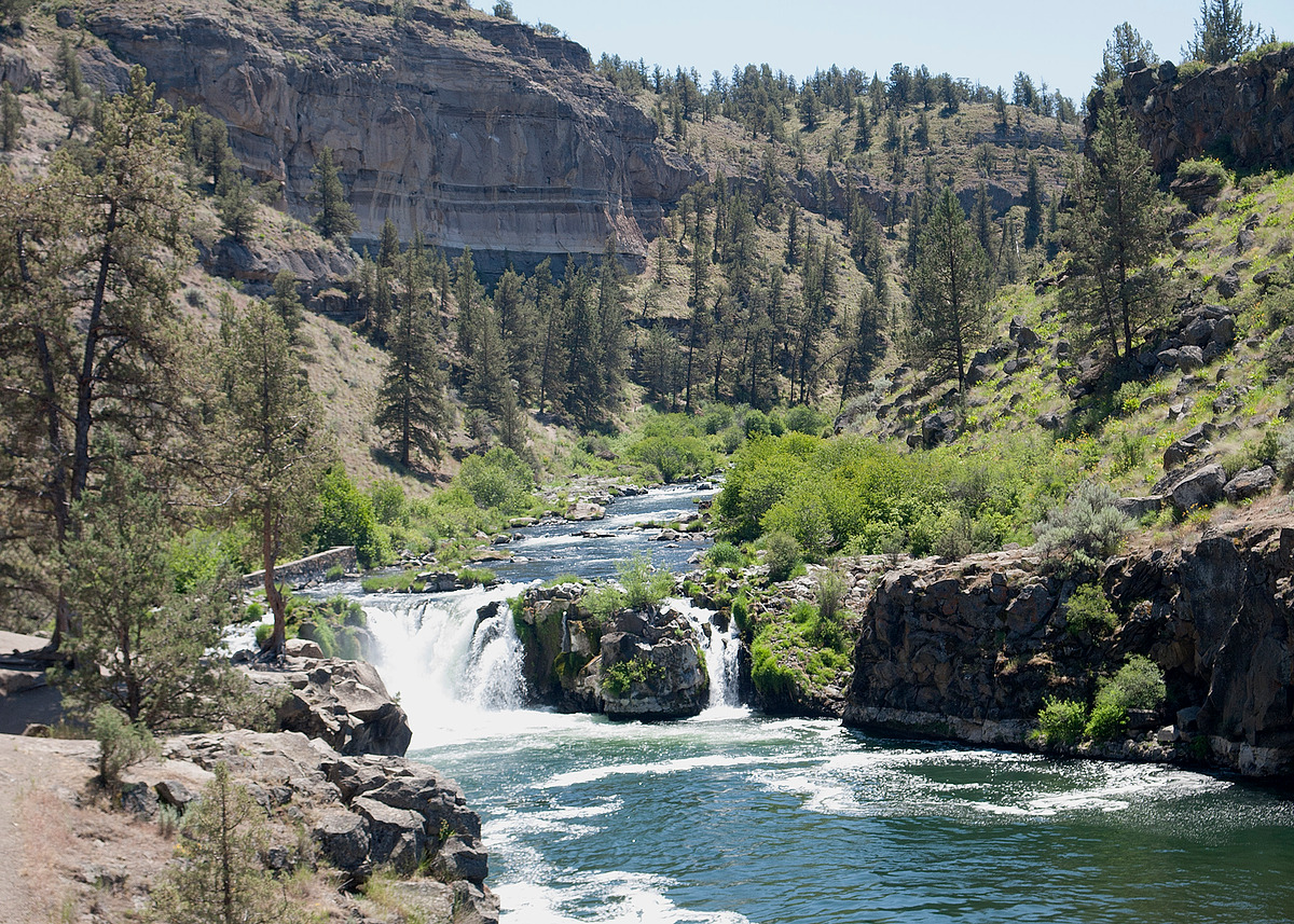 Deschutes Canyon-Steelhead Falls Wilderness Study Area Map