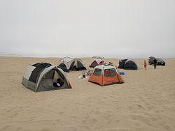 Oceano Dunes Camping Area