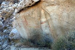 Little Blair Valley Pictographs