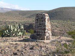 Kearny Encampment Monument