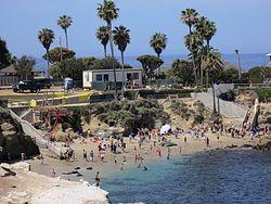 La Jolla Cove Beach Access