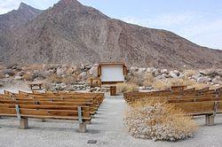 Borrego Palm Canyon Amphitheater
