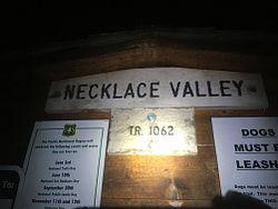 Necklace Valley Trailhead