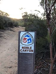 Noble Canyon Trail