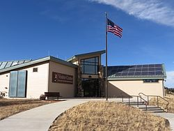 Florissant Fossil Beds Visitor Center