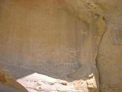 Una Vida Petroglyph