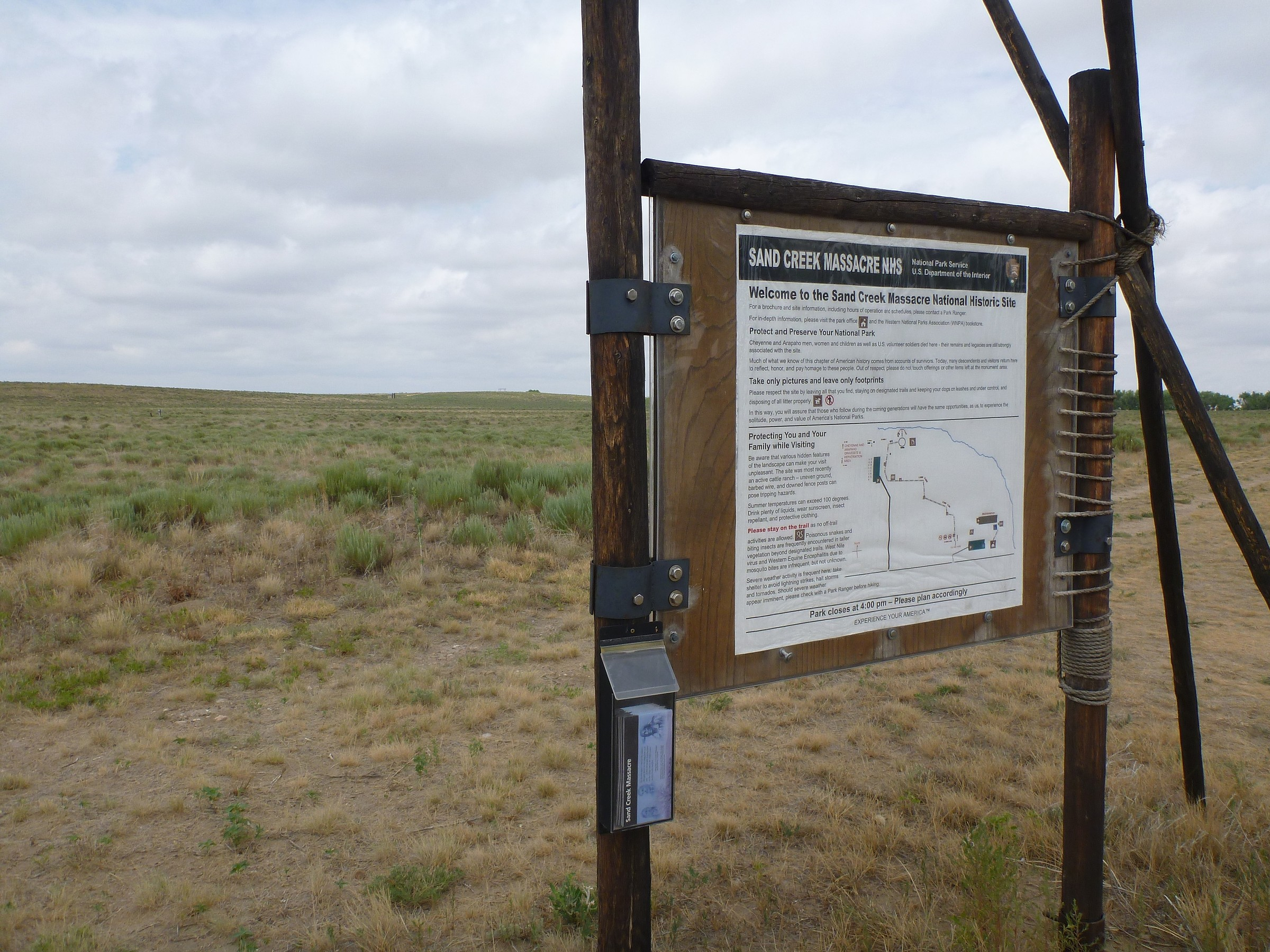 Sand Creek Macre Monument and Bluffs · Featured Route ... on