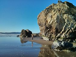 Stinson Beach Bouldering Area