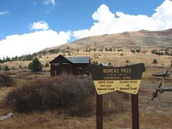 Boreas Pass Section House Trailhead