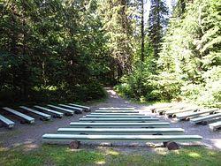 Avalanche Creek Amphitheater