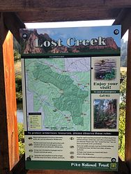 Ute Creek Trailhead