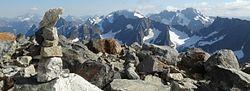 Sahale Glacier Campsite