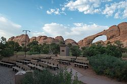 Devils Garden Campground Amphitheater