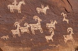 Wolfe Ranch Petroglyph