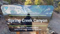 Spring Creek Trailhead
