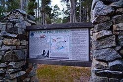 Glen Alpine Springs Interpretive Site