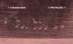 Wire Pass Petroglyphs