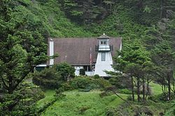 Cleft of the Rock Cape Perpetua Lighthouse